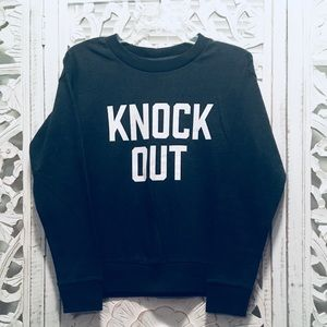 KNOCK OUT Sweatshirt from Banana Republic.